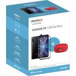 Smartphone HONOR Pack 9X Noir + Enceinte