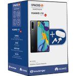Smartphone HUAWEI Pack P30 noir + Freebu