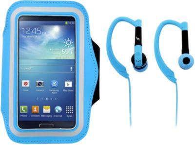 Accessoire Tnb + écouteurs sport bleu