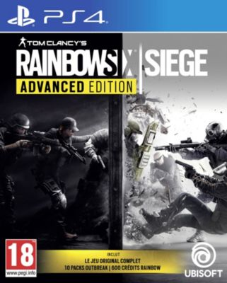 Jeu Ps4 ubisoft rainbow six siege advanced edition