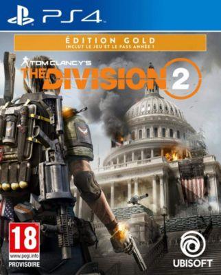 Jeu PS4 Ubisoft The Division 2 Gold Edition