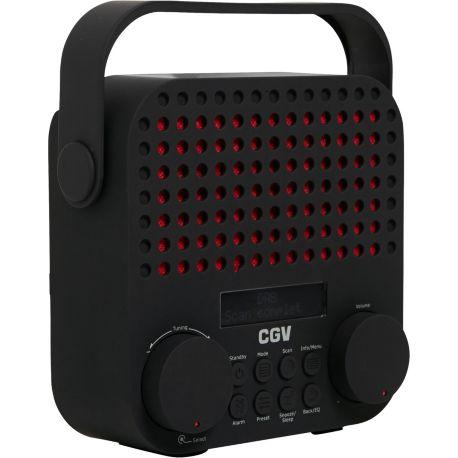Radio CGV DR15+ noire