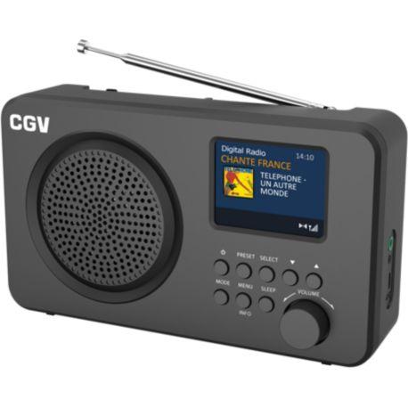 Radio CGV DR6+ Noir