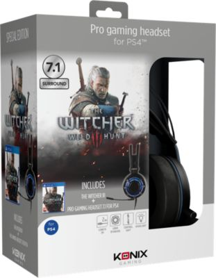 Casque gamer Konix Casque PSU800 + Witcher 3
