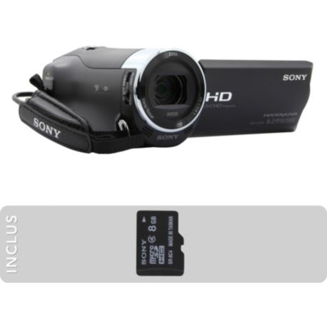 Camescope SONY Pack HDR-CX240 + MicroSD 8Go