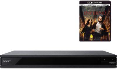 Lecteur Blu-Ray 4K Sony UBPX800 + Inferno