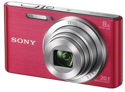 Appareil Photo compact sony pack dsc-W830 rose + housse