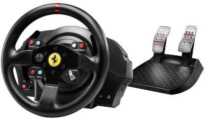 Volant + pédalier thrustmaster t300 ferrari racing wheel ps4/ps3/pc + jeu ps4 namco project cars 2