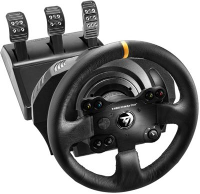 Volant + pédalier thrustmaster tx rw leather edition xbox one