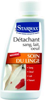 Détachant Starwax detachant sang lait oeuf 100ml