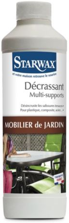 Nettoyant STARWAX DEGRAISSANT MOBILIER DE JARDIN