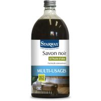 Nettoyant STARWAX savon noir concentre 1L