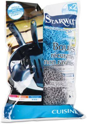 Boule de lavage starwax boules recurantes non rayantes x2