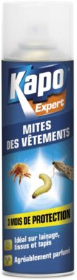 Antimites Kapo aérosol mites et larves 250 ml
