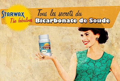 STARWAX THE FABULOUS BICARBONATE DE SOUDE