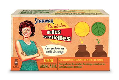 Huile STARWAX THE FABULOUS 2 Huiles essentielles