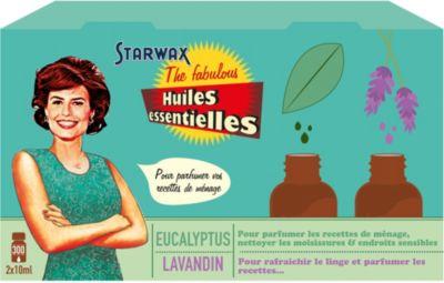 Huiles Essentielles starwax the fabulous 2 huiles essentielles lavande/eucalyptus