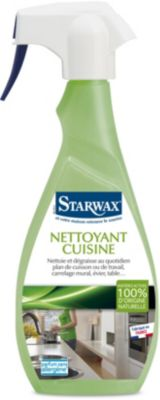 Dégraissant Starwax nettoyant vert cuisine 500ml