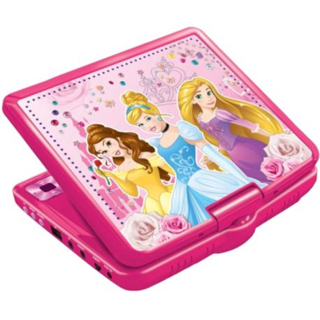 Lecteur DVD portable LEXIBOOK DVDP6DP Disney Princesses