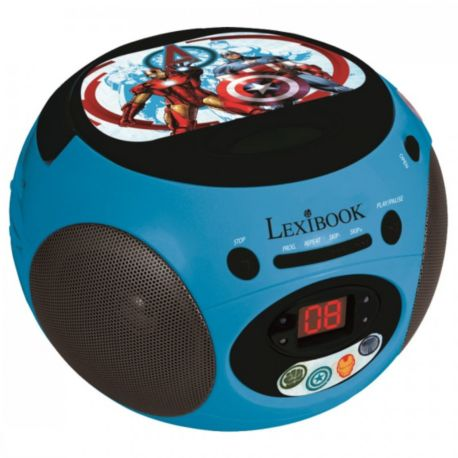 radio cd lexibook rcd102av the avengers. Black Bedroom Furniture Sets. Home Design Ideas