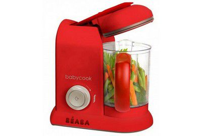 Mixeur Cuiseur BEABA 912422 BABYCOOK red