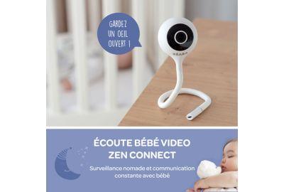 Ecoute-BB BEABA video ZEN connect gris perle