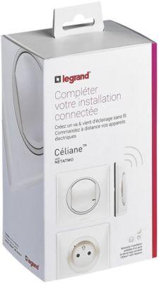 Interrupteur connecté Legrand Kit extension Céliane with...