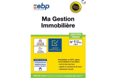 ESD EBP Ma Gestion Immobilière version 10 Lots