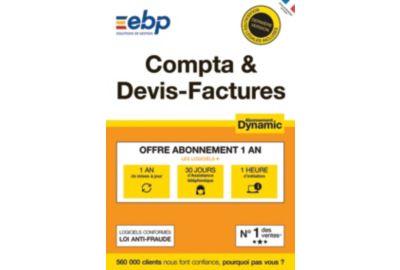 ESD EBP Compta & Devis-Factures DYNAMIC 12 mois