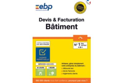 ESD EBP Devis et Facturation Batiment OL