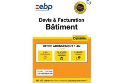 ESD EBP Devis et Facturation Batiment DYNAMIC