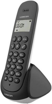 Téléphone sans fil Logicom Aura 150 Solo Noir