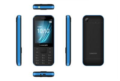 logicom l282 noir bleu t l phone portable boulanger. Black Bedroom Furniture Sets. Home Design Ideas