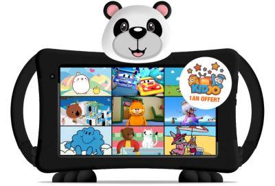 Tablette LOGICOM enfant10'' LOGIKIDS 6 -''>Des applications et un moteur de recherche conçu pour les petits</h3><p>Découvrez le nouveau partenaire idéal pour votre enfant ! La tablette LOGICOM enfant10'' LOGIKIDS 6 est équipée de <b>14 applications</b>, toutes sélectionnées pour leur qualité et leurs contenus. Votre enfant pourra ainsi apprendre à lire, à compter, à cuisiner, à faire des tours de magie, des origamis ou encore à créer des jouets et des décorations grâce aux 2500 vidéos incluses dans la tablette. Les <b>5 jeux</b> lui permettront d'apprendre et de s'épanouir tout en s'amusant et enfin, grâce aux <b>4 contes</b> disponibles, apprenez-lui à lire et à parler d'autres langues !<br><br>En plus des applications déjà installées, la tablette LOGICOM enfant10'' LOGIKIDS 6 est équipée du <b>moteur de recherche Qwant Junior</b>. Spécialement conçu et adapté pour les enfants, ce moteur de recherche propose des résultats de recherche filtrés et à vocation éducative pour écarter les contenus reconnus comme inappropriés et choquants et permettre à votre enfant de découvrir le web en toute sécurité.<br><br></p><h3><img class=