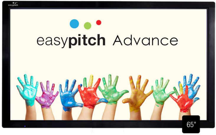 Ecran tactile EASYPITCH interactif Advance 65''