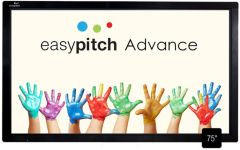 écran tactile EASYPITCH interactif LE-75