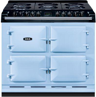 Piano de cuisson gaz AGA 6X4 GAZ BLEU GLACIER