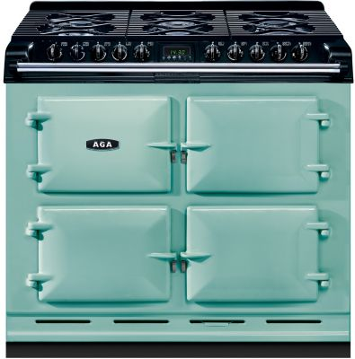 Piano de cuisson gaz AGA 6X4 GAZ VERT PISTACHE