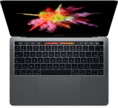 Ordinateur Apple macbook cto pro tb 13 i7 2.7 16go 1to gris