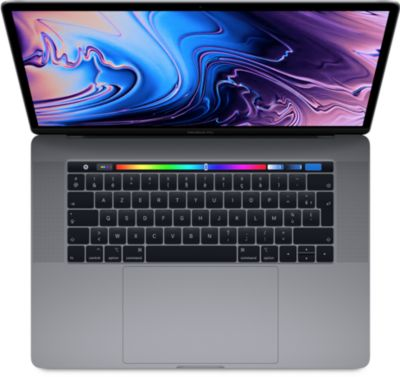 Ordinateur Apple macbook cto new pro tb 15 i9 16go 512ssd gris s