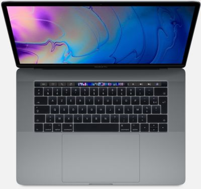 Ordinateur Apple macbook cto pro tb 15 i9 32go 512go gris s