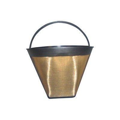 Filtre à café Essentielb permanent métal doré T4