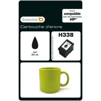 Cartouche d'encre Essentielb H338 Noire Série Mug