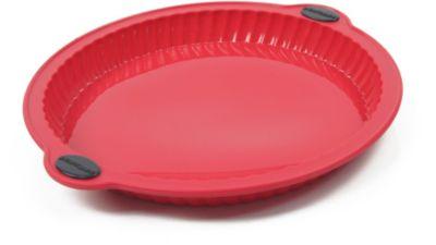 Moule en silicone essentielb tarte avec renfort 26cm - Avec quel produit enlever du silicone ...