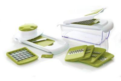 Essentielb multifonctions vert anis mandoline coupes l gumes fruits et oeufs boulanger - Coupe legumes multifonction ...