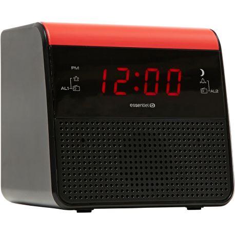 Radio-réveil ESSENTIELB Ring Up USB charge
