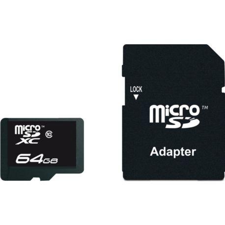 Mémoire ESSENTIELB 64Go micro SDXC Performance
