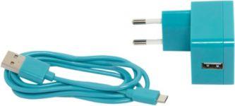 Chargeur OGLO# Chargeur + câble USB Bleu