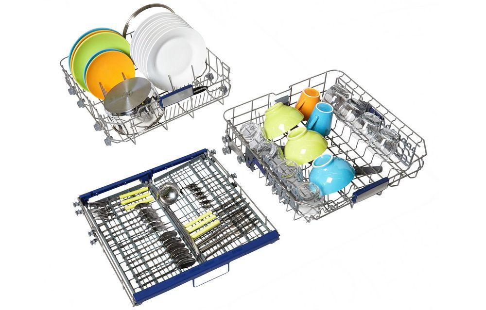 essentielb lave vaisselle 60 cm elv3 458s silver vaiselle. Black Bedroom Furniture Sets. Home Design Ideas