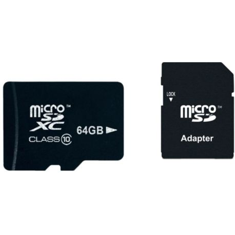 Mémoire ESSENTIELB MicroSDXC 64Go Loisir